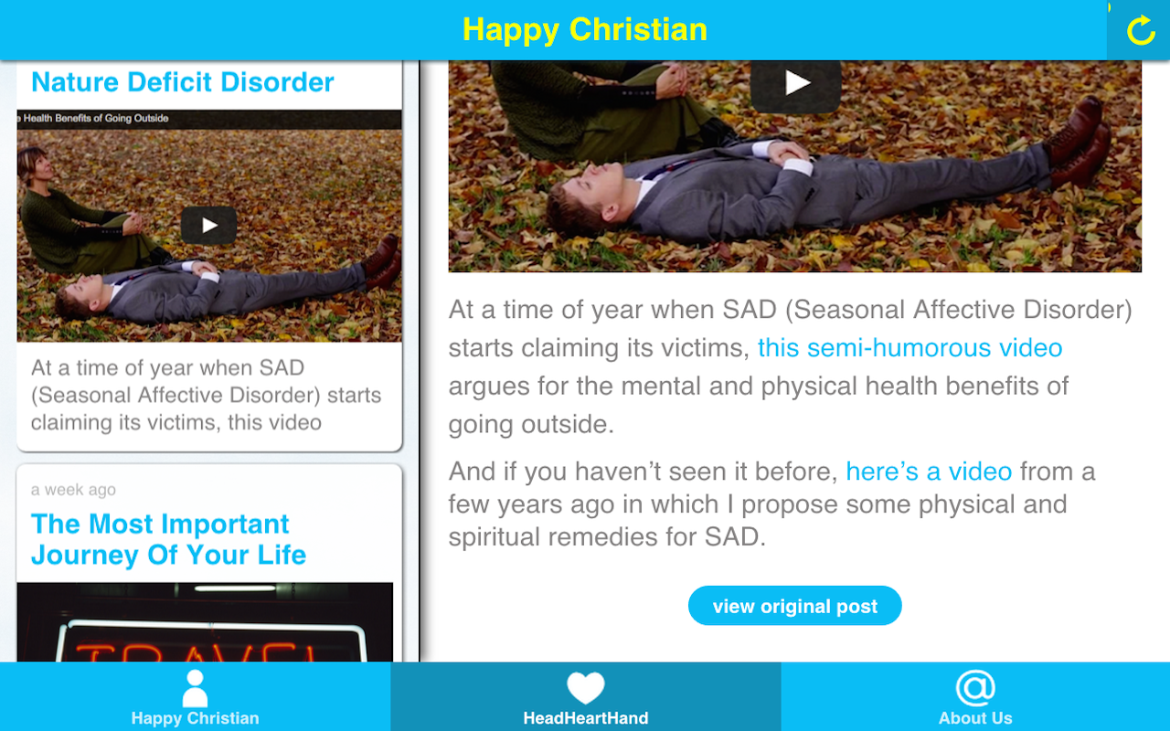The Happy Christian- screenshot