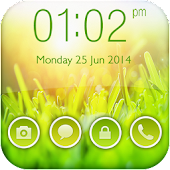 Green Nature Go Locker Theme