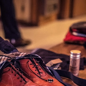The Shoes by Will Ballew - Wedding Details
