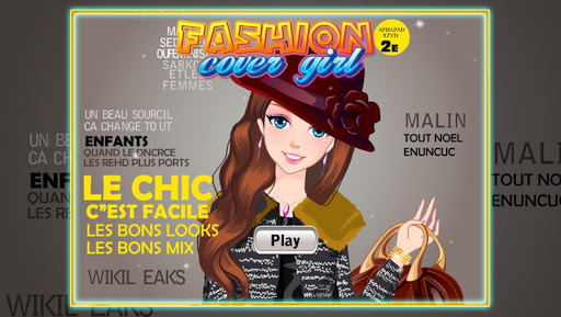Fashion Cover Girl