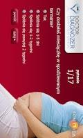 Screenshot of Pregnancy Test Dr Diagnozer