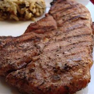 Caribbean Jerk Pork Chops.