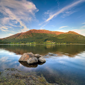 Brassenthaite Lake, Cumbria, The Lake District by Dave Byford - Landscapes Mountains & Hills ( water, hills, england, mountains, cumbria, reflections, the lake district,  )