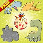 Dinosaurios rompecabezas niños - Dino Puzzle icon
