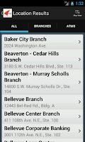 Screenshot of Banner Bank Mobile