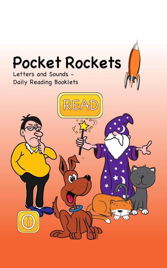 Learn to read: Pocket Rockets- screenshot