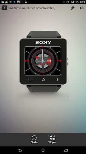 玩工具App|JJW SpinningRims Watchface SW2免費|APP試玩