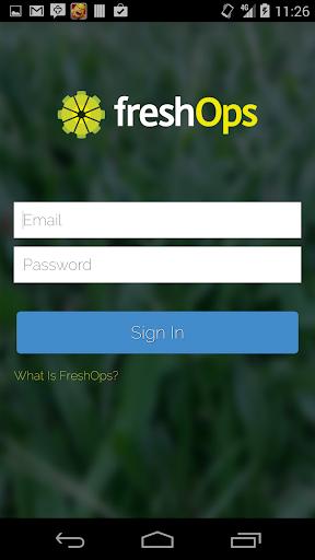 FreshOps Employee  screenshots 1