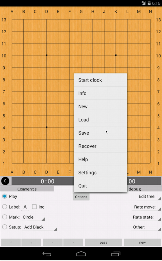 Go GridMaster (free)- screenshot
