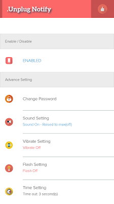 Unplug Notify - Anti Theft - screenshot