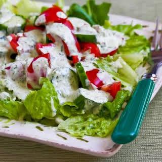 Green Goddess Salad Dressing.