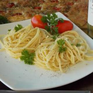 Gerardo'S Spaghetti with Oil and Garlic Recipe