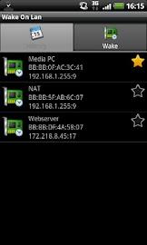 Wake On Lan Screenshot 1