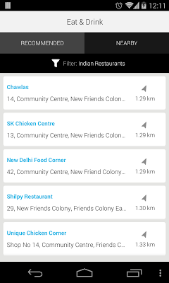 Explore: Local Search and Maps - screenshot