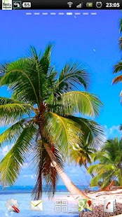 karibské pláži lwp - náhled