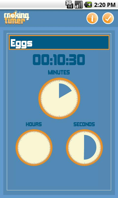 Cooking Timer - screenshot