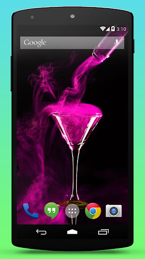 Download Pink Cocktail Live Wallpaper Google Play