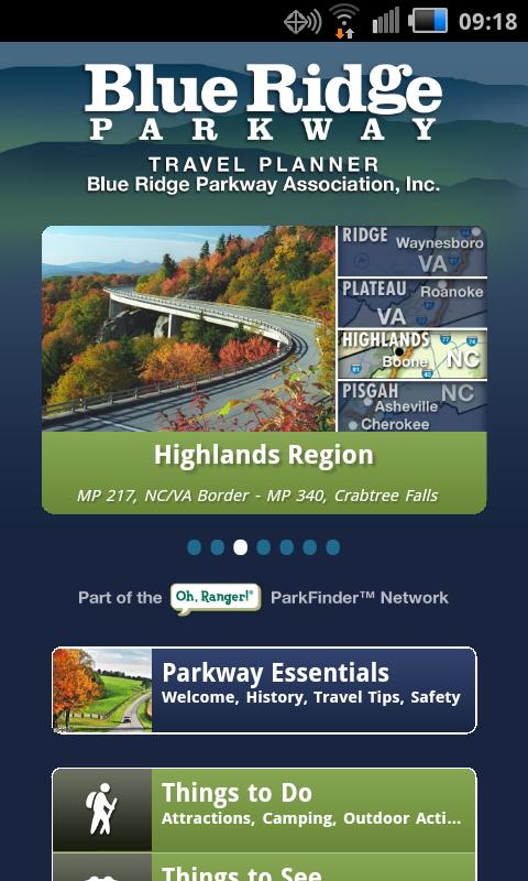 Blue Ridge Parkway- screenshot