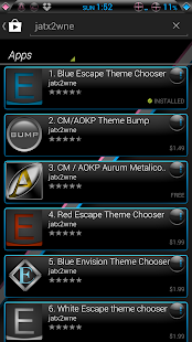 Blink CM AOKP theme- screenshot thumbnail