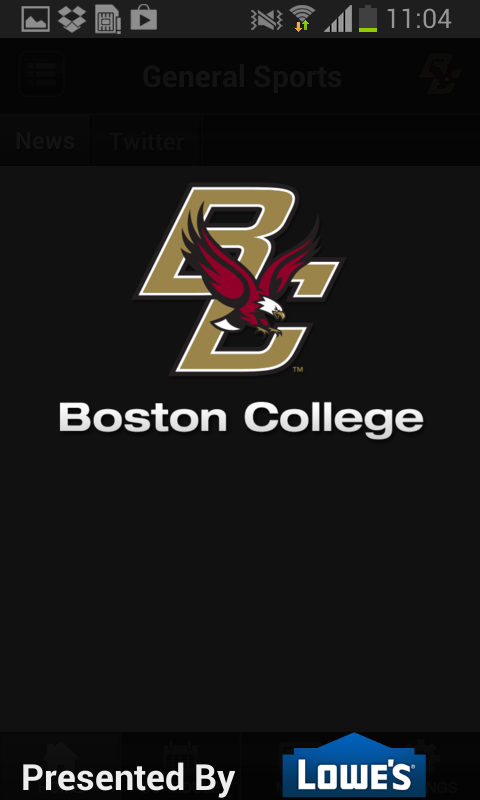 Boston College Athletics - screenshot