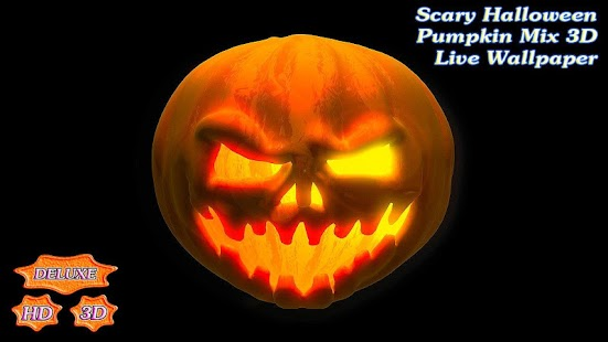 Scary Halloween Pumpkin Mix 3D- screenshot thumbnail