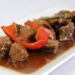Chinese-style Spicy Veal.
