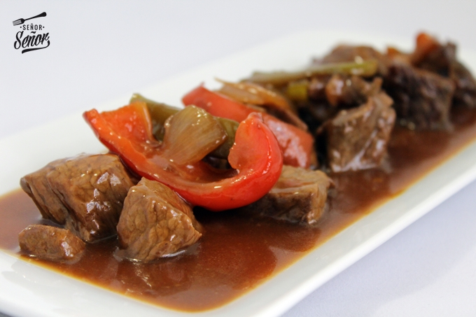 Chinese-style Spicy Veal
