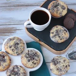 Thin Mint Streusel Muffins