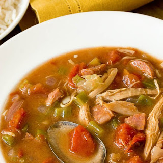 Chicken & Andouille Sausage Gumbo