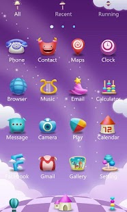 Magic World GO Launcher Theme- screenshot thumbnail