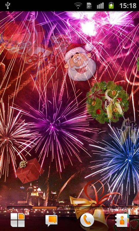 New Year's Eve Live Wallpaper - screenshot