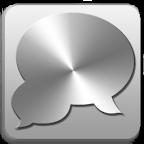 ZMetal Theme GO SMS