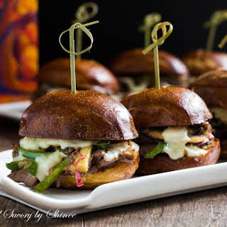 Philly Cheese Steak Sliders.