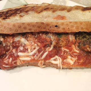 Meatless Meatball Sandwich