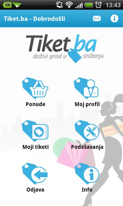 Tiket.ba- screenshot