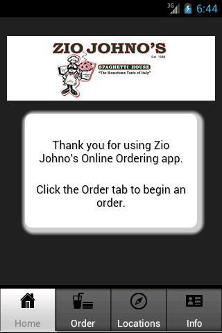 Zio Johno's Restaurant