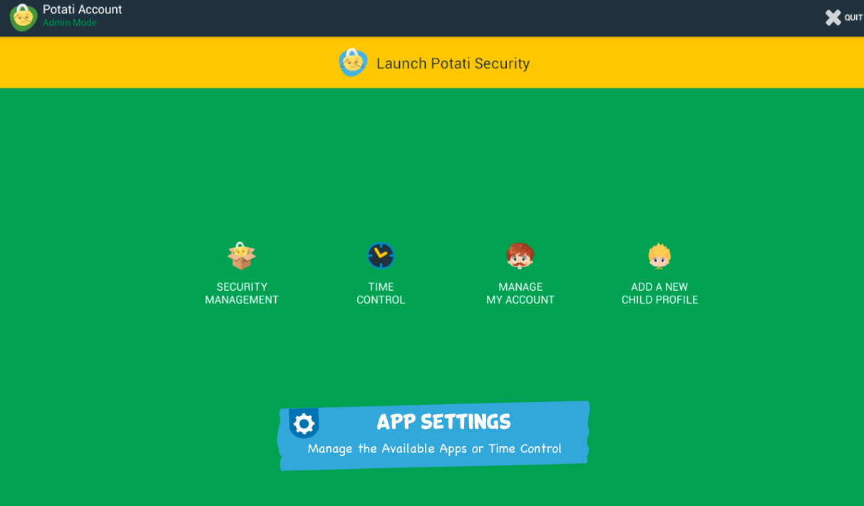 POTATI Security- screenshot
