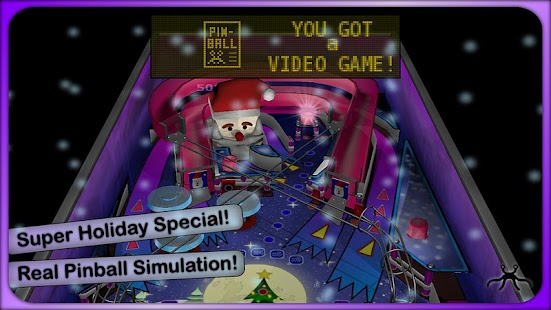 Xmas Pinball Lite - screenshot thumbnail