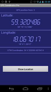 GPS全球定位系統坐標臨