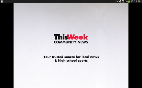ThisWeek Community News - screenshot thumbnail