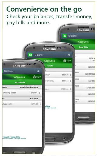 TD Bank (US) - screenshot