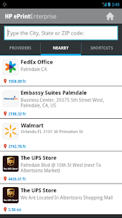 HP ePrint Enterprise (service) - screenshot thumbnail