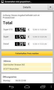 ADAC Spritpreise - screenshot thumbnail
