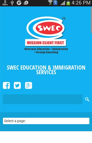 SWEC Edu. Immi. Services
