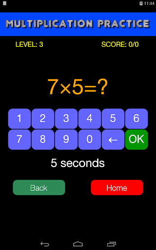 Quick Strike Math Game - Kids' Practice  screenshots 3
