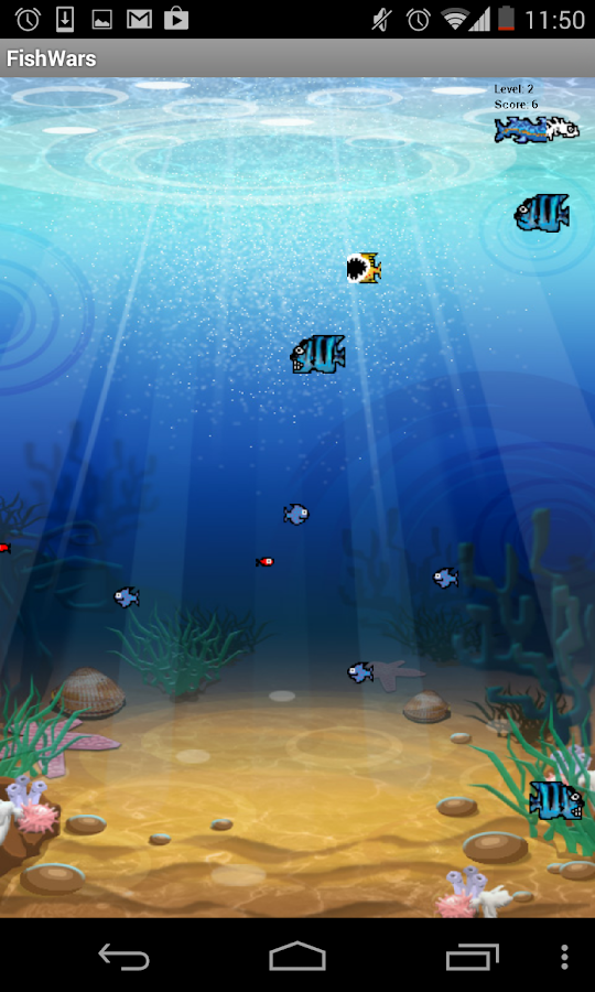 Fish battle 123 android apps on google play for Battle fish 2