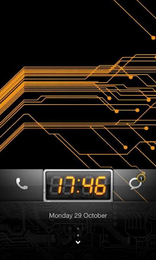 MIUI Circuit theme Go Locker