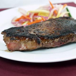 Cracklin' Sugar-Charred Cowboy Steak
