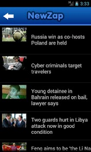NewZap - News for you- screenshot thumbnail