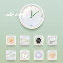 Baby White GO LauncherEX Theme icon